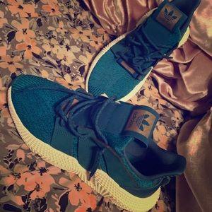 Adidas Turquoise propheres